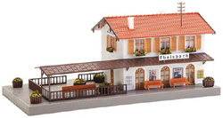 Faller HO Ebeisbach Station, DUE TBA, LIST PRICE $28.99