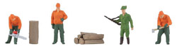 Faller HO Forestry Workers, LIST PRICE $13.99