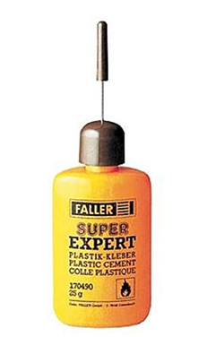 Faller Super Expert cement  25-g, LIST PRICE $5