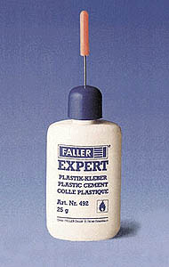Faller Expert plastic cement, LIST PRICE $5