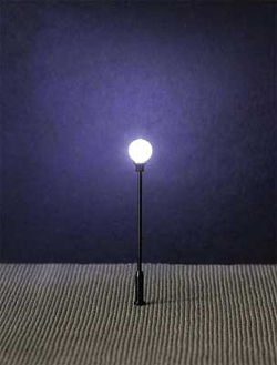 Faller HO LED Park Light on Mast Adjustable height up to, DUE TBA, LIST PRICE $24.99