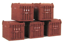 Funaro & Camerlengo HO LCL Containers Resin Kit pkg(5), LIST PRICE $29.99