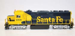 Fox Valley Models HO GP60 ATSF Early #4017, LIST PRICE $199.95