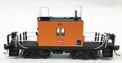 Fox Valley Models HO Transfer caboose #01 Logo Black No's Late Body, DUE 11/5/2018, LIST PRICE $65.95