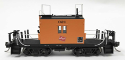 Fox Valley Models HO Transfer caboose #021 Logo Black No's Late Body, LIST PRICE $65.95