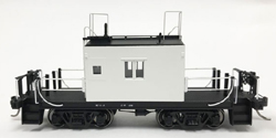 Fox Valley Models HO Transfer caboose Painted White Late Body, DUE 11/5/2018, LIST PRICE $65.95