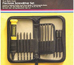 General Hardware Manufacturing Co., Inc. Precision ScrDrvr Set-19p, LIST PRICE $26.59