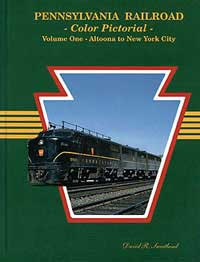 Gargraves PRR Color Pictorial Vol. 1: Altoona Pto NYC HC 128, LIST PRICE $49.95
