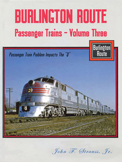 Gargraves Burlington Rte Passngr Trains  V3 Pass Train Problems , LIST PRICE $59.95