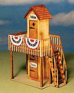 GCLaser HO 2-Story PC Outhouse, LIST PRICE $23