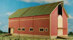 GCLaser HO Barn red Farm Series #7, LIST PRICE $69