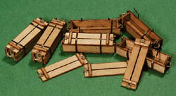 GCLaser Wood Crate Kit #1 6/, LIST PRICE $9