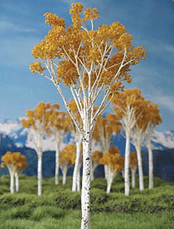 "Grand Central Gems Fall Aspen Tree-Small, 2-3"" Tall (15), LIST PRICE $30"