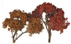 "Grand Central Gems Fall Hardwood Tree-Large, 6"" Tall (3), LIST PRICE $25"
