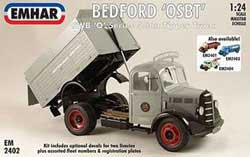 Emhar Model Co BEDFORD OLBD'5ton TIPPER 1:24 , LIST PRICE $76
