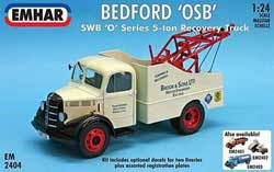 Emhar Model Co BEDFORD OSB RECOVERY TRUCK :24, LIST PRICE $76