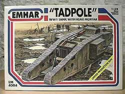 Emhar Model Co WW-I BRITISH TADPOLE Mk.IV :35, LIST PRICE $51