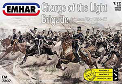 Emhar Model Co CHARGE LIGHT BRIGADE 1:72 , LIST PRICE $11.99