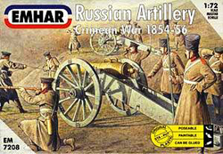 Emhar Model Co RUSSIAN ARTILLERY 1:72 , LIST PRICE $11.99
