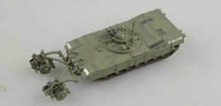 EASY MODEL M1 Panther W/Mine Roller 1:72, LIST PRICE $20.98