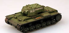 EASY MODEL KV-1 RUSSIAN ARMY 1941 Grn :72, LIST PRICE $19.98