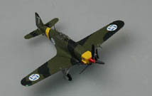 EASY MODEL AIRCRAFT MS.406 FINNISH AIR FORCE 1:72 , LIST PRICE $19.98