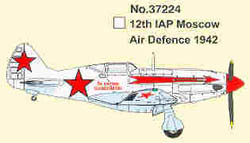 EASY MODEL AIRCRAFT Mig-3 12th IAP MAD 1942 1:72  , LIST PRICE $19.98
