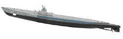 EASY MODEL AIRCRAFT USS GATO SS-212 1944 1:700    , LIST PRICE $16.98