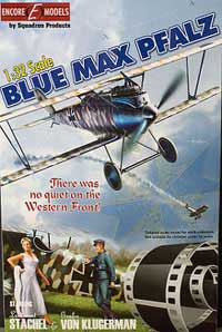 Encore models BLUE MAM PFALZ D.III 1:32, LIST PRICE $69.99
