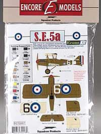 Encore models Se5A Hispano Econokit 1:72, LIST PRICE $9.99