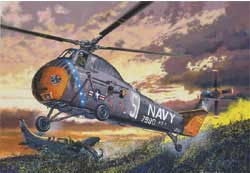 Gallery Models H-34 Us Navy Rescue 1:48, LIST PRICE $55.98