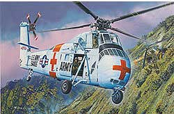 Gallery Models CH-34 US ARMY RESCUE 1:48, LIST PRICE $55.98
