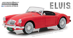 Greenlight Collectibles 1:18 ELVIS MG BLUE HAWAII  LIMITED EDITION , DUE TBA, LIST PRICE $64.99