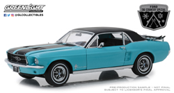 Greenlight Collectibles 1:18 1967 FORD MUSTANG , DUE 12/30/2018, LIST PRICE $64.99