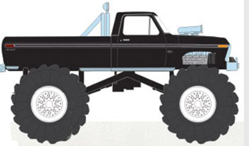 Greenlight Collectibles 1:18 1979 FORD F250 MONSTER BLCK , DUE 5/30/2019, LIST PRICE $119.99