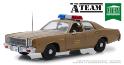 Greenlight Collectibles 1:18 1977 PLYMOUTH A TEAM , DUE 12/30/2018, LIST PRICE $69.99