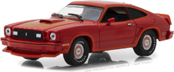 Greenlight Collectibles 1:43 1978 Ford Mustang II King Cobra Red & Black , DUE TBA, LIST PRICE $19.99