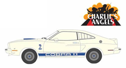 Greenlight Collectibles 1:43 1976 Ford Mustang Cobra II Charlie's Angls 76, LIST PRICE $19.99