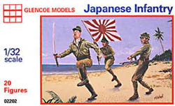 Glencoe Models JAPANESE INFANTRY 1:32        , LIST PRICE $10