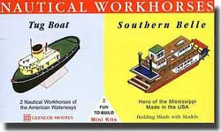 Glencoe Models NAUTICAL WORKHORSES Mini      , LIST PRICE $7.98