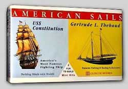 Glencoe Models AMERICAN SAILS Mini           , LIST PRICE $7.98