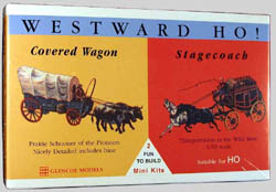 Glencoe Models WESTWARD HO Mini              , LIST PRICE $10