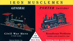 Glencoe Models IRON MUSCLEMEN Mini           , LIST PRICE $7.98