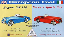 Glencoe Models EUROPEAN COOL Minis           , LIST PRICE $7.98