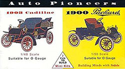 Glencoe Models AUTO PIONEERS Minis           , LIST PRICE $7.98