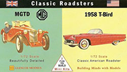 Glencoe Models CLASSIC ROADSTERS Minis       , LIST PRICE $10