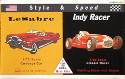 Glencoe Models SPEED & STYLE Minis           , LIST PRICE $7.98