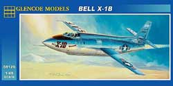 Glencoe Models BELL X-1B 1:48, LIST PRICE $14.98