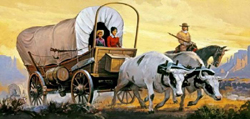 Glencoe Models Covered Wagon 1:48, LIST PRICE $19.95