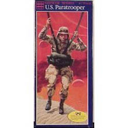 Glencoe Models U.S.PARATROOPER  1:10         , LIST PRICE $14.98